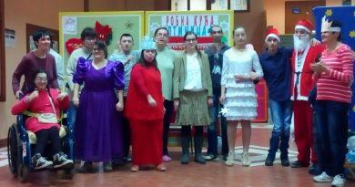 Korisnici udruženja učestvovali u novogodišnjoj svečanosti sa muzičko-dramskim programom
